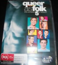 Queer As Folk USA/US The Complete 5th Season 5 (Australia Region 4) DVD – New