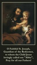 Father s Day Prayer Card - ENGLISH (wallet size)