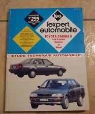 revue technique l'expert automobile ea N°299 TOYOTA CARINA II + FICHES TECHNIQUE