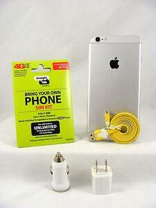 Apple iPhone 6 Plus-16GB Space Gray(Straight Talk/T-Mobile 4G LTE Nano SIM Card)