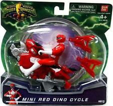 MIGHTY MORPHIN POWER RANGERS 2010 MINI RED DINO CYCLE