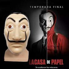 Salvador Dali Money Heist The House of Paper La Casa De Papel Halloween Mask bes