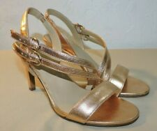Naturalizer Womens Shoes Kayla Copper Slingback Heels 3.25 Inches Size 6.5 M US
