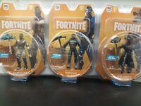 Fortnite Action Figures (Lot of 3) Carbide, Calamity, Bandolier