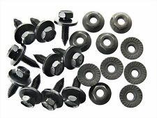 Honda Body Bolts & Flange Nuts- M6-1.0mm x 20mm Long- 10mm Hex- Qty.10 ea.- #125
