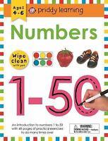 Wipe Clean Workbook: Numbers 1-50: By Priddy, Roger