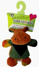 """Hugglehounds - Chubby Buddies, Hippo,  Small 7"""" tall by 6"""" wide"""
