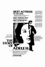 STORY OF ADELE H Movie POSTER 27x40 B Isabelle Adjani Bruce Robinson Sylvia