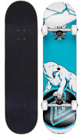 Z-Flex Skateboard Complete Mini Polar Bear 7.25