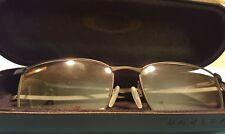 OAKLEY OX3204-0255 Eyeglass Frames BLACK TAPROOM 55 17 139 New