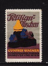 400260/ Reklamemarke - PELIKAN-Werke - Günther Wagner - HANNOVER