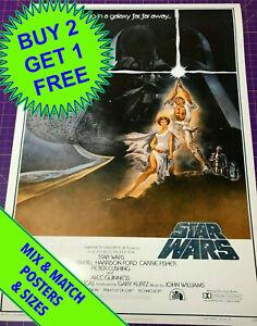 STAR WARS (1977) no.2  •  A1 SIZE  •  POSTER PRINT