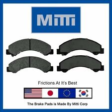 Replacement Front Disc Brake Pad Severe-Duty Fits Chevy W3500 W4500 Tiltmaster
