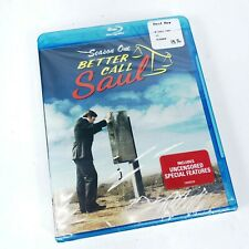 Better Call Saul Season 1 Blu-ray w/ UltraViolet New Factory Sealed Bob Odenkirk