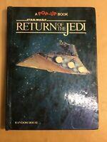 1983 STAR WARS RETURN OF THE JEDI Pop Up Book DARTH VADER Han Solo SKYWALKER