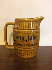 Vintage Pitcher Long John Scotch Whisky England