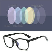 Women Mens Clear Lens Anti Glare Glasses TV PC Computer Gaming Blue-Light Filter