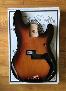 Fender Standard Series Precision Bass P-Bass Alder Body, Brown Sunburst ! New !