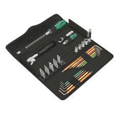 Wera Kraftform Kompakt F1 Schraubwerkzeugsatz für Fensterbauer 05134013001
