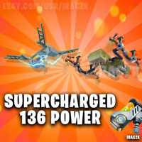 FORTNITE STW Save The World - X200 TRAPS SUPERCHARGED 136 POWER
