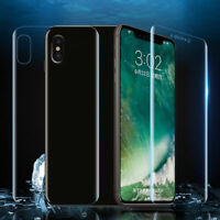 For Apple iPhone Xs Max/XR/XS/X/8 7 6 Plus Full TPU Soft Screen Protector