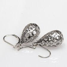 Silver Teardrop Earrings, Dangle, Drop Earrings, Small Earrings, Metal