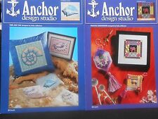 "Anchor Embroidery And Hardanger Charts 2 Patterns  ""Canvaswork"""