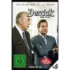 "DERRICK ""DERRICK COLLECTOR'S BOX 15 (FOLGE 211-225)"" 5 DVD NEUWARE"
