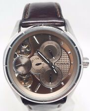 Fossil ME1020 Twist Automatic Brown Leather Analog Men's Watch