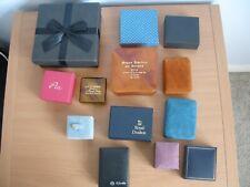 Job Lot Jewellery Gift Boxes   - (Q89)
