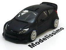 1:18 Minichamps Ford Fiesta RS WRC Plain Body 2011 flatblack