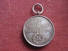 Médaille pour services fidélité à la drapeau IX