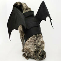 Halloween Dog Cosplay Clothes Vest Cat Costume Bat Wing Party For Pet Dress Up