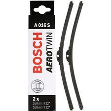 """Bosch WIPER BLADES A016S AEROTWIN SETS FITS AUDI A4 A6 MERCEDES CLK CLS 2 X 22"""""""