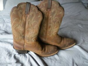 Ariat Womens Cowgirl Brown Boots size 9 B Pre Owned Cowboy Boots