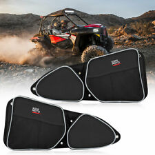 Front Side Door Bags w/ Knee Pad For Polaris Rzr 900 Rzr Xp 4 1000 Rzr Turbo