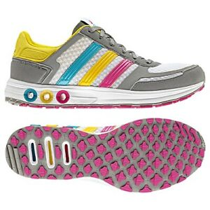 Women's adidas Sport Running LA Trainer Shoes Wonderglo Shiftgrey G41041  Size