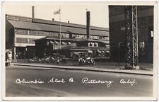 RPPC Motorcycles at Columbia Steel Company in Pittsburg, California~107443