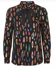Vero moda  VMBERTA LS SHIRT NL Blouse black Size XL   #8