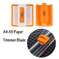 Portable Paper Trimmer Precision Card Art Photo Cutting Mat Blade Accessories