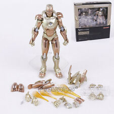 MARVEL/ FIGURA IRON MAN 3 GOLD MARK XXI 16 CM- MIDAS  FIGURE FIGMA #EX-26 BOX