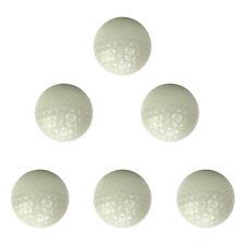 6pcs Luminous Golf Balls Bright Night Floating Glow Golf Balls for Practice
