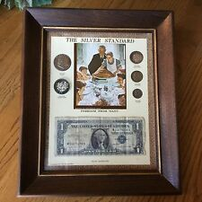 The Silver Standard Norman Rockwell Freedom From Want Coin & Currency Set