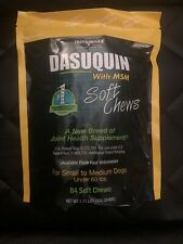 Dasuquin w/MSM for Small and Medium Dogs Soft Chews, 84 Soft Chews 02/2022