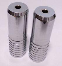 "New Schwinn XS Ribbed Axle Pegs Steel 3/8"""