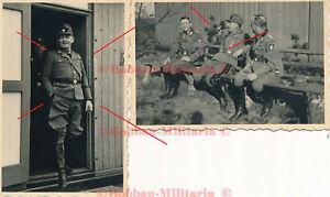 P277 Fotos Reichsarbeitsdienst Lager Emsland Emslandlager Besuch RAD General TOP