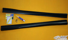 RDX Laterali VW Polo 6c gonne TUNING SPOILER BARRE IN ABS TURBO