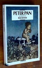 BARRIE: Peter Pan nei giardini di Kensigton p. e. 1993 Illustrazioni Rackham