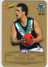 2012 AFL Select Peel And Reveal Gold Card - Travis Boak