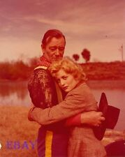 John Wayne Constance Towers Rare 4  X  5  TRANSPARENCY Horse Soldiers